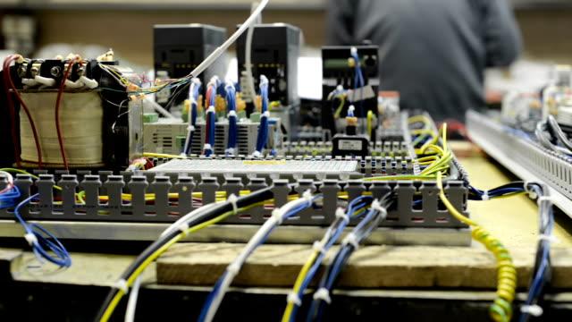 Control system of a modern CNC machine video
