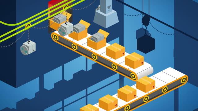 conveyor belt loop animation