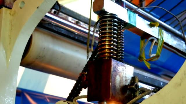 Conveyor production factory video
