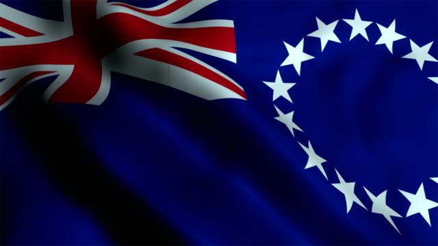 Cook Islands Flag video