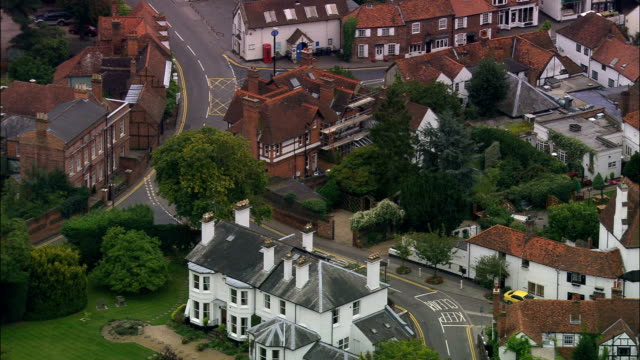 Cookham  - Aerial View - England, Windsor and Maidenhead, Cookham, United Kingdom video