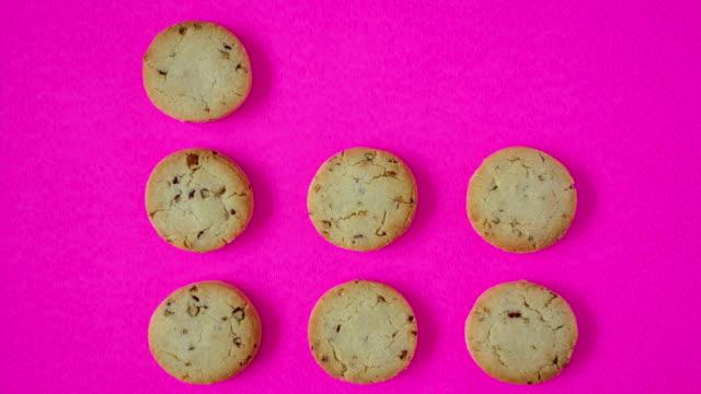 cookies - pop art video stock e b–roll