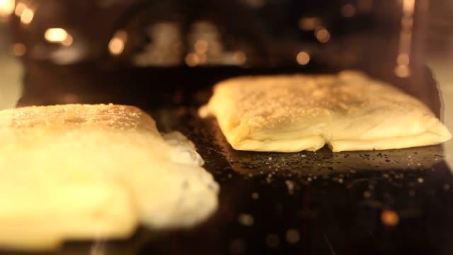 cooking dough video