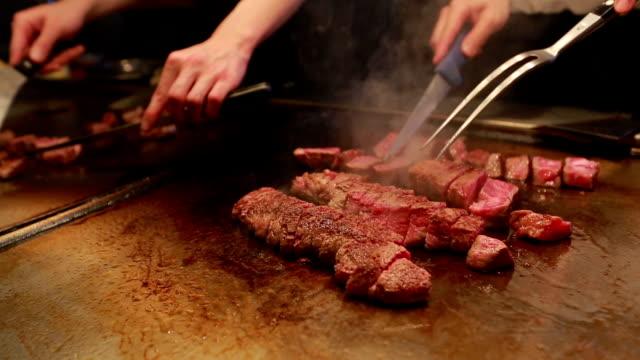 Cooking Kobe Beef Steak video