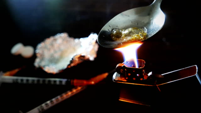 cooking narcotic substance video