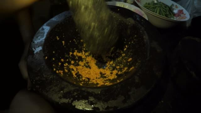 Cooking Thai food video