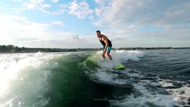Cool Wakesurfer video
