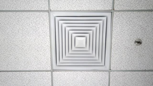 soğutma hava delikleri - pervane stok videoları ve detay görüntü çekimi