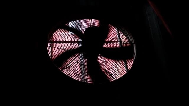 kylning fläkt - wheel black background bildbanksvideor och videomaterial från bakom kulisserna