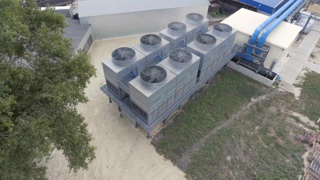 kyltorn på utomhus - ventilation bildbanksvideor och videomaterial från bakom kulisserna