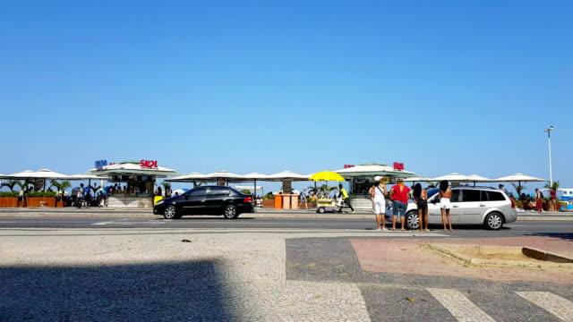 コパカバーナビーチ - コパカバーナ海岸点の映像素材/bロール