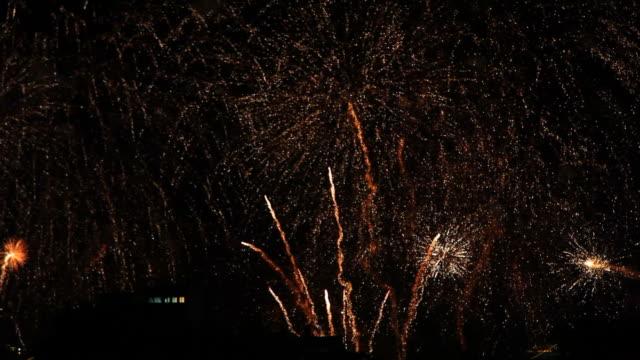 copacabana fireworks 2015 new year eve - 2015 bildbanksvideor och videomaterial från bakom kulisserna