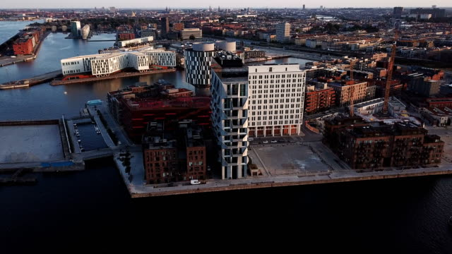 Copenhagen cityscape: Modern architecture at the sea
