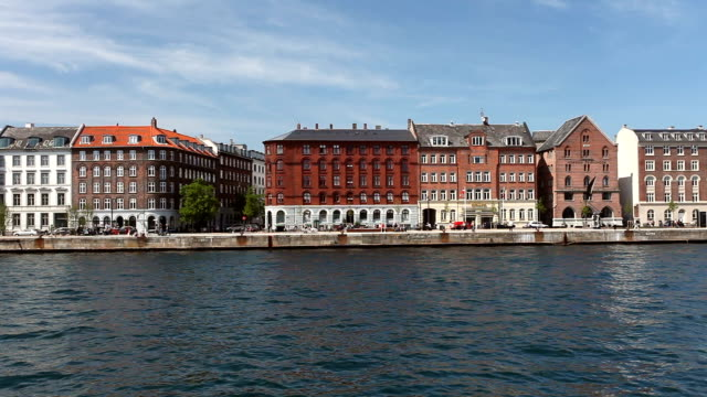 Copenhagen harbor Copenhagen harbor wasser videos stock videos & royalty-free footage