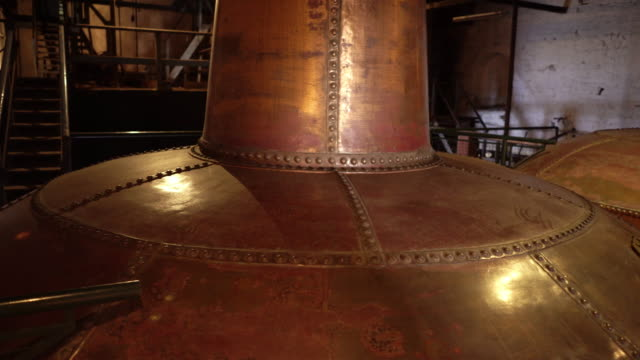Copper brewery distillers - video