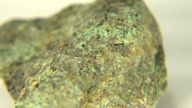 Copper Ore Malachite This is the copper ore malachite beautifully blended of green color from Pima County, Arizona. copper stock videos & royalty-free footage