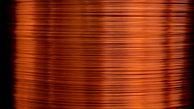 Copper wire drawing video