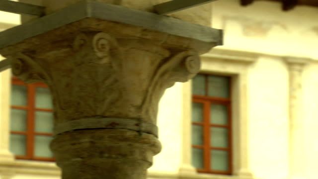 corinthian capital - neoclassical architecture stock videos & royalty-free footage