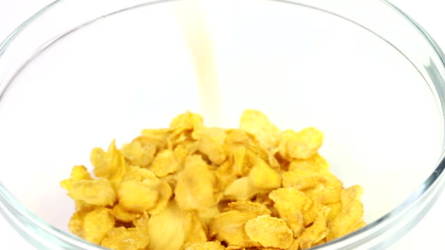corn flakes with milk video
