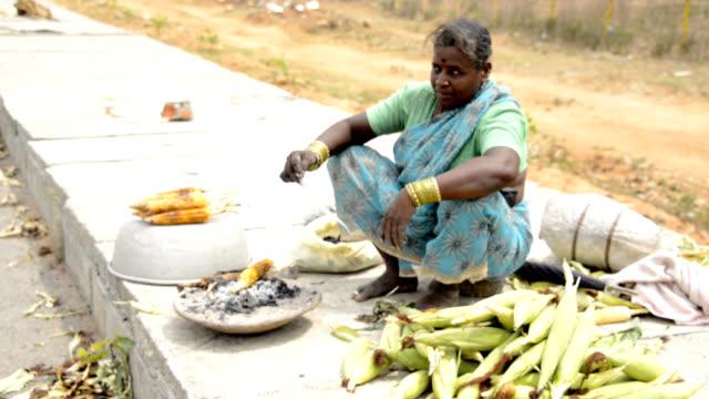 Corn Seller video
