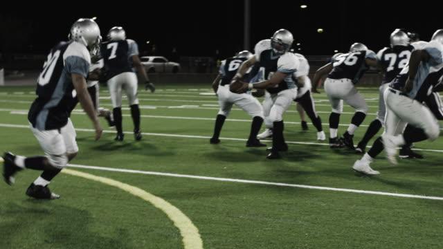 Corner tackles running back video