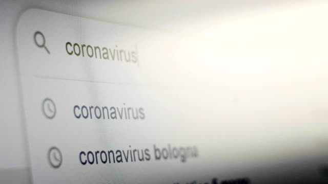 coronavirus anguish severe common pneumonia pandemic virus searching in search engine coronavirus anguish severe common pneumonia pandemic virus searching in search engine covid icon stock videos & royalty-free footage