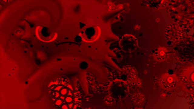 bakgrund av coronavirus-celler - corona vaccine bildbanksvideor och videomaterial från bakom kulisserna