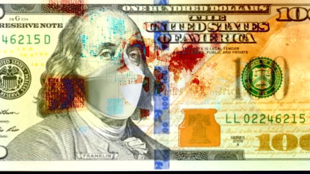 coronavirus covid-19 economic recession concept background