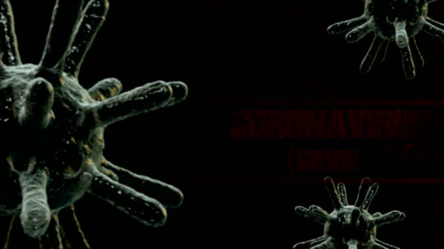 Coronavirus (COVID-19) medical animation,stock video