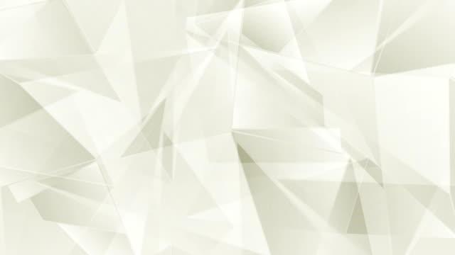 Corporate beige geometric polygonal video animation video
