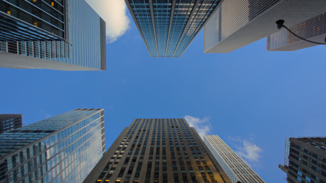 corporate building - american architecture stock videos & royalty-free footage