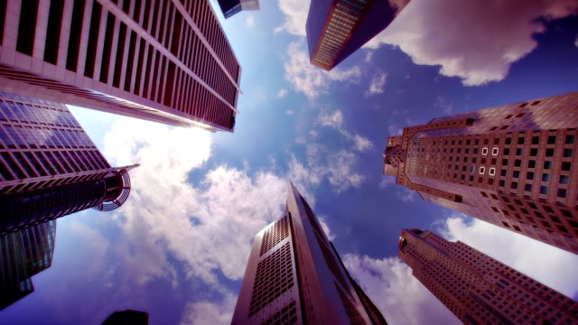 Corporate buildings. video
