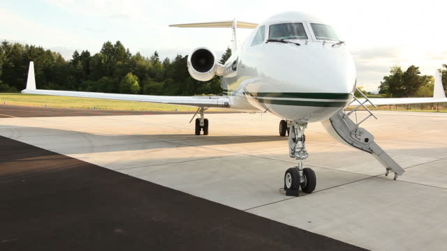 Corporate jet  private airplane stock videos & royalty-free footage