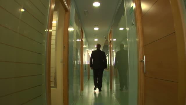 Corridor walk video