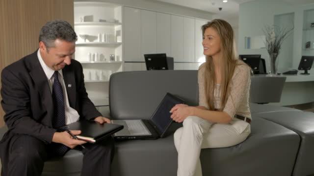 Cosmetic dental consultation video
