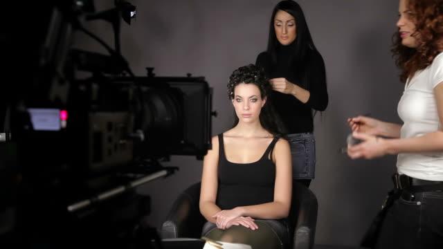 Fazer de cosméticos - vídeo
