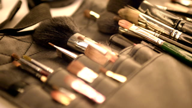 Cosmetic professional tools. video