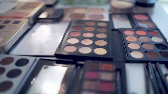 cosmetics makeup preparation and products foundation make up stock videos & royalty-free footage