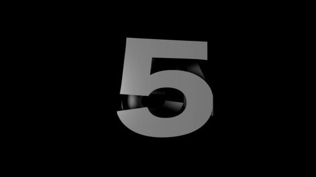 Countdown Cube video