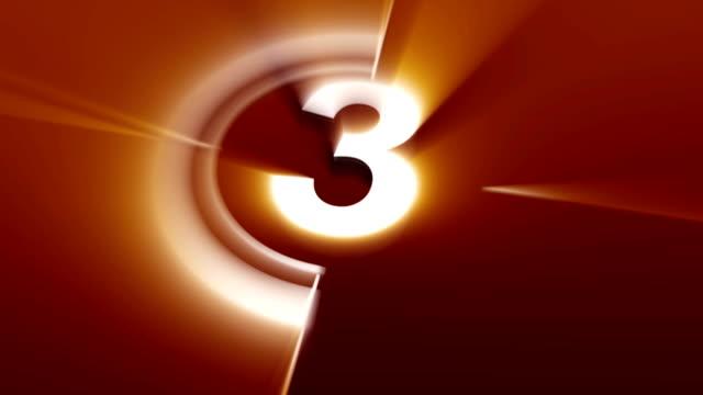 카운트다운 오랑주 샤인 - 불길한 스톡 비디오 및 b-롤 화면