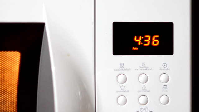 countdown program on microwave