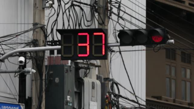 countdown Traffic light video