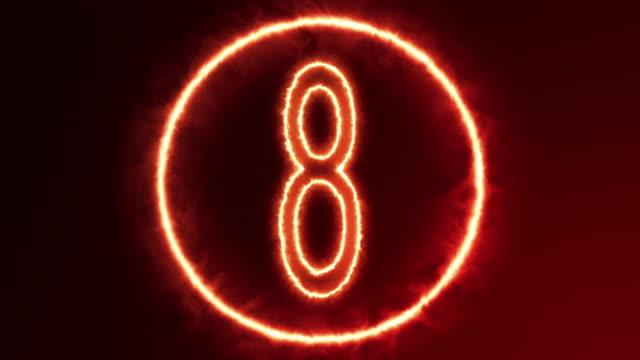 4K Countdown video