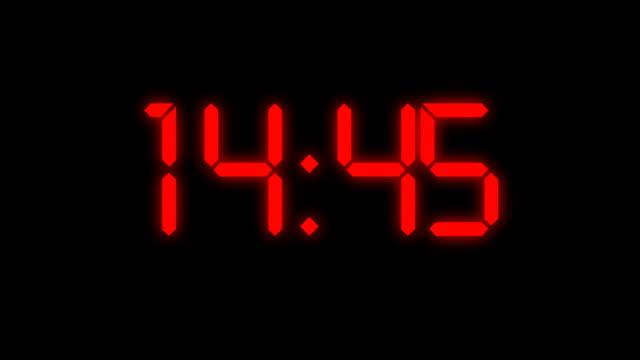 Countdown warning video