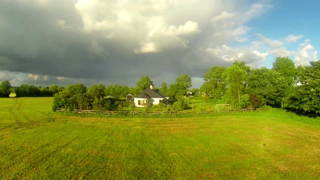Countryside living aerial video video