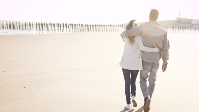 Couple at beach video
