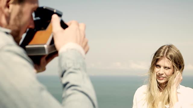 Couple at coast video