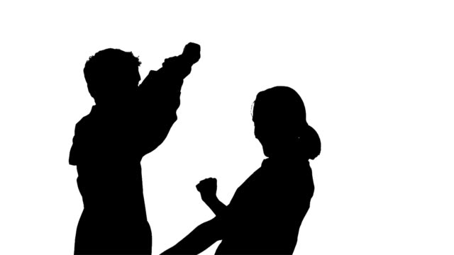 Couple Dancing Silhouette video