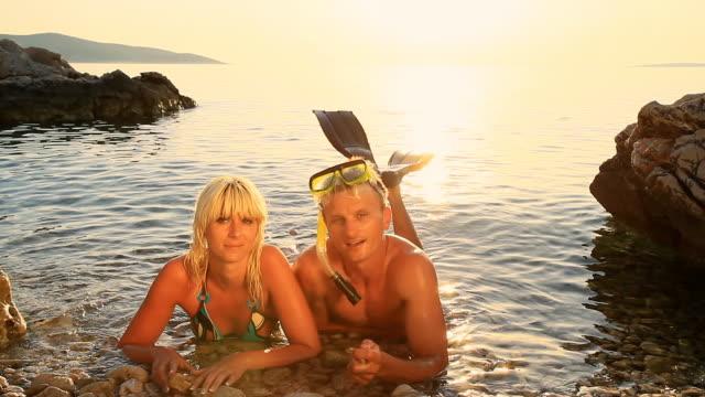 HD: Couple Enjoying Vacation video