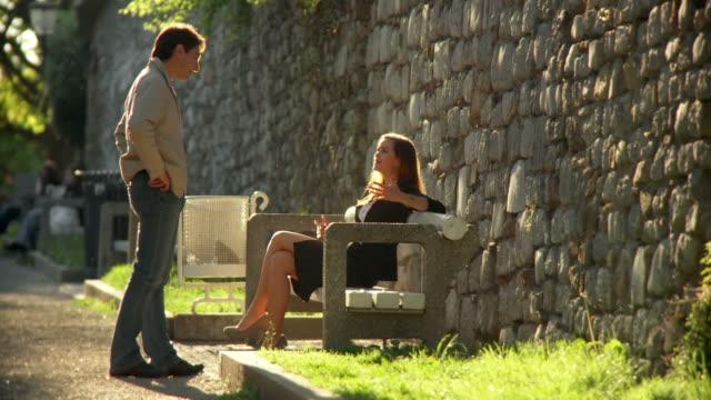 HD: Couple Flirting video